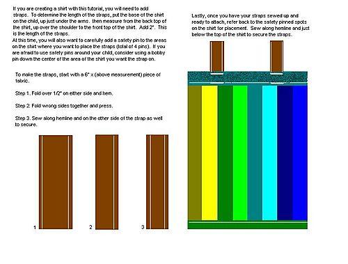 Striped shirt tutorial 2